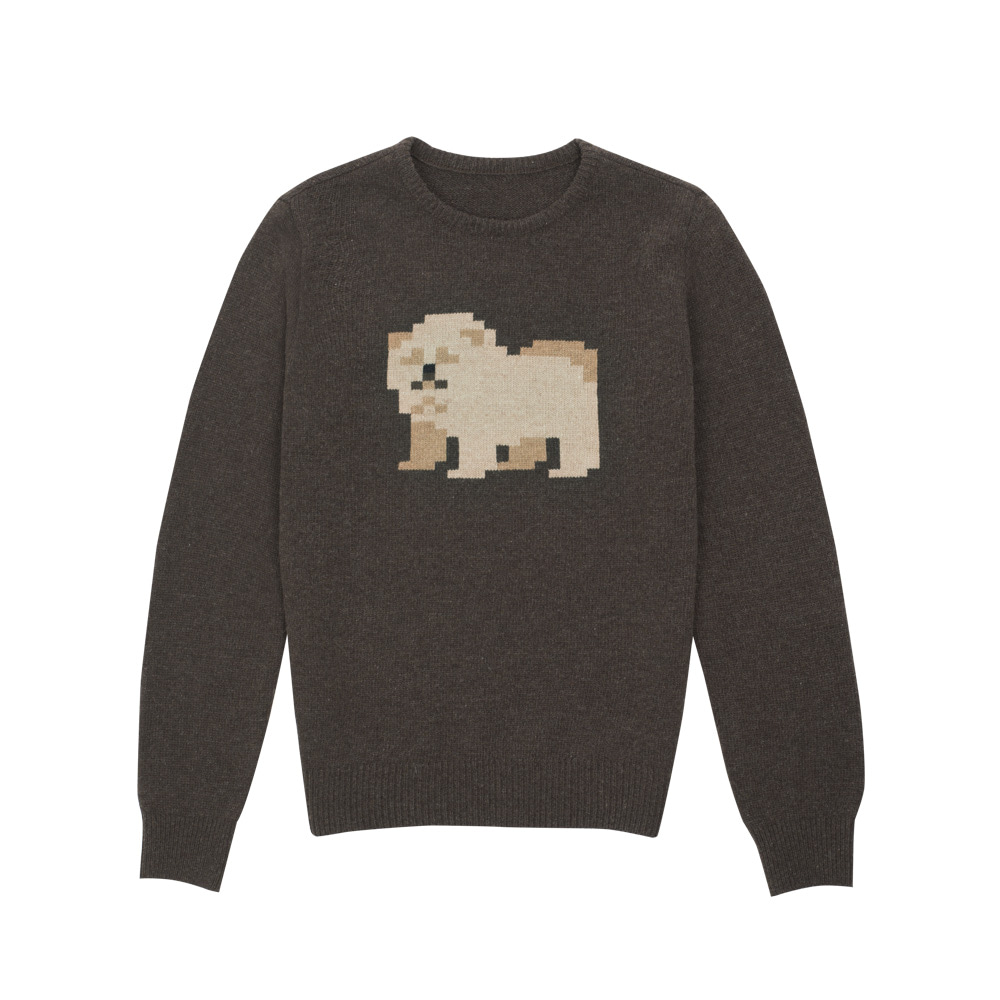 lambswool sweater chowchow (EVENT)