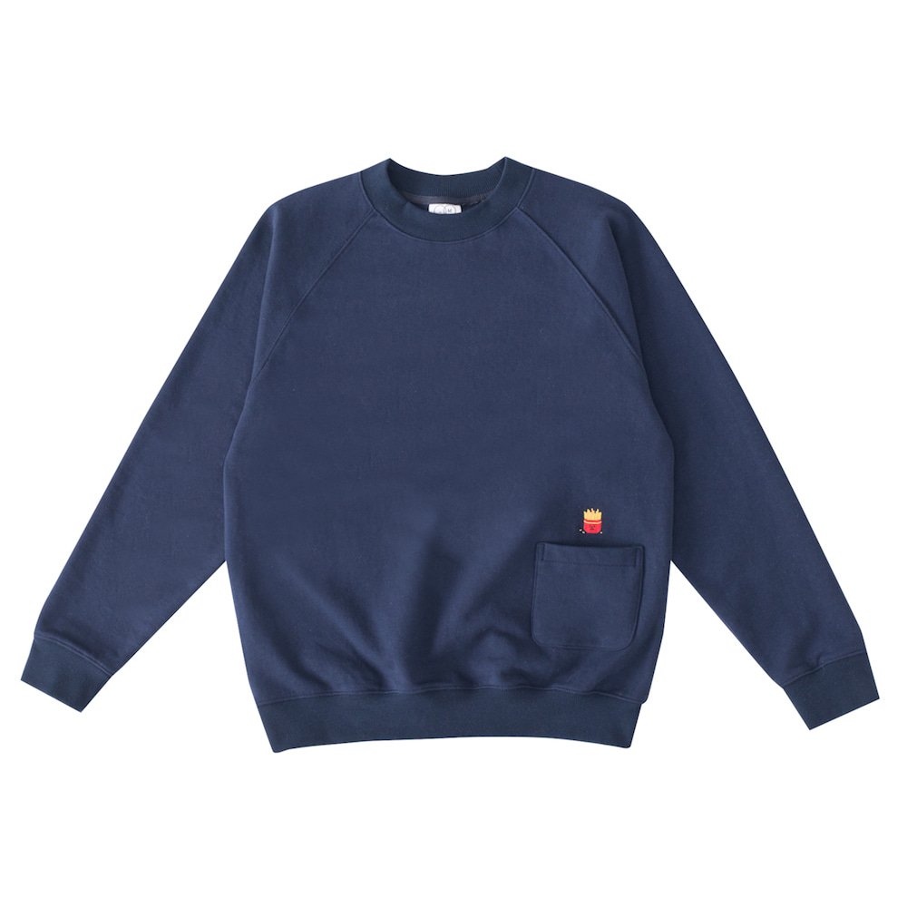 SML sweatshirt frenchfries (EVENT 50% OFF)