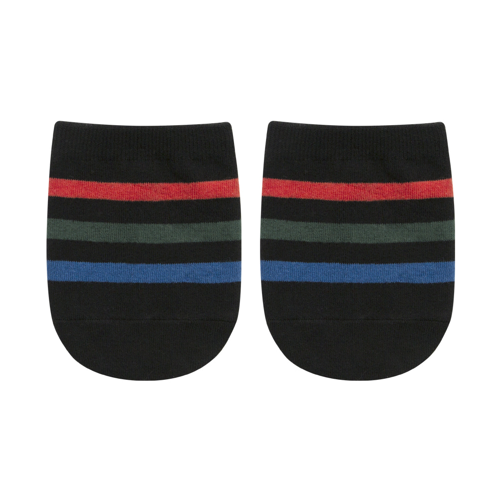 half stripe black