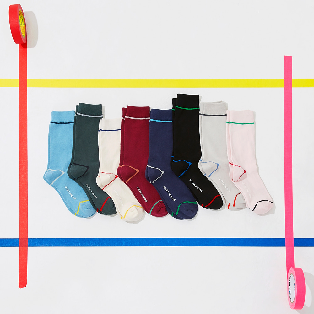 Color Line Socks 3pack (20% OFF)