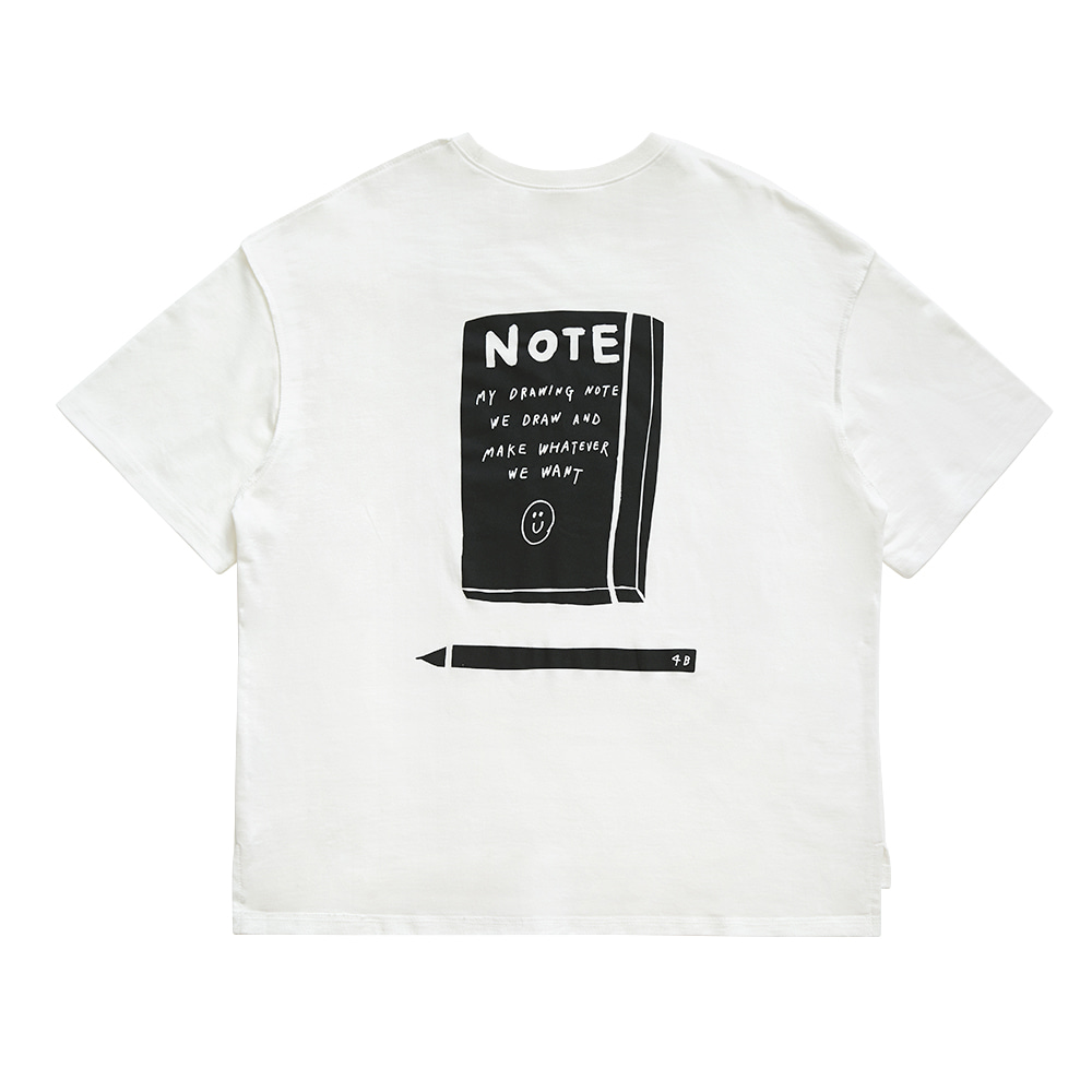 INAP t shirt note