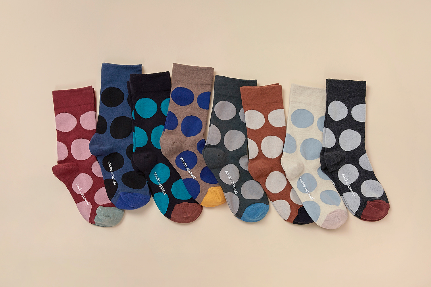 20S/S PEBBLE DOT SOCKS